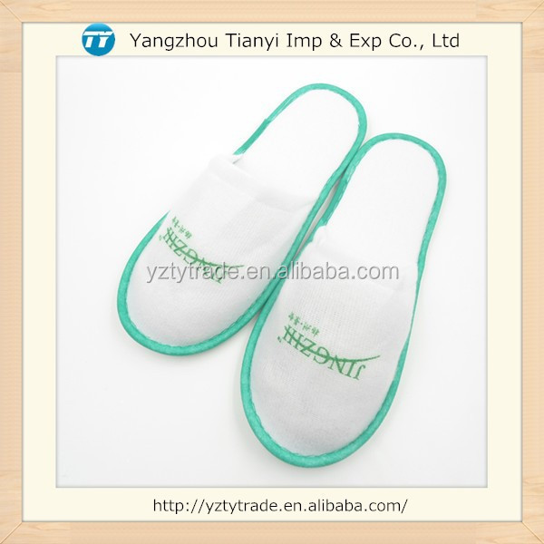Cheap Price Nap Cloth Fabric Disposable Hotel Slipper