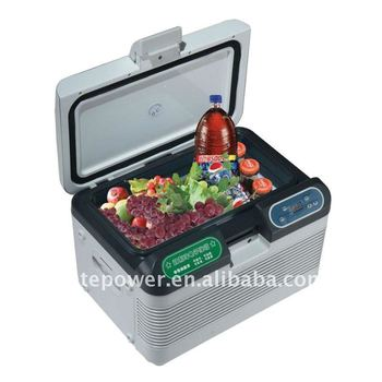 dc ac car fridge 12L with LCD dispaly