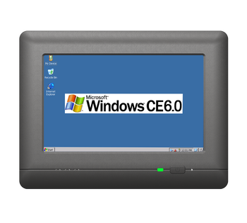 OEM 7 Inch Embedded Wall Mount PC with Linux/Wince OS system for Industry