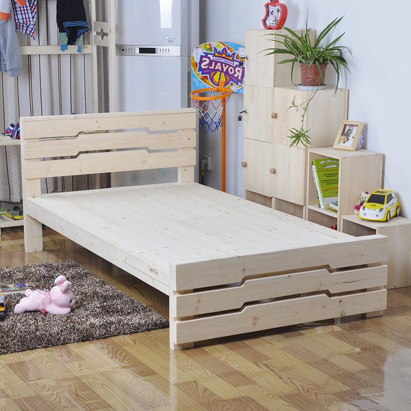SC0186 vida diseño hogar muebles madera maciza de alta calidad cama ...