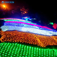 Outdoor waterproof Led net light with Garden decoration large net led lights