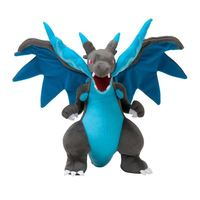 5pcs/lot Anime Peluches Pokemon XY Plush Toys 23cm Mega Evolution Charizard X Soft Stuffed Plush Doll Cartoon Gift for Kids