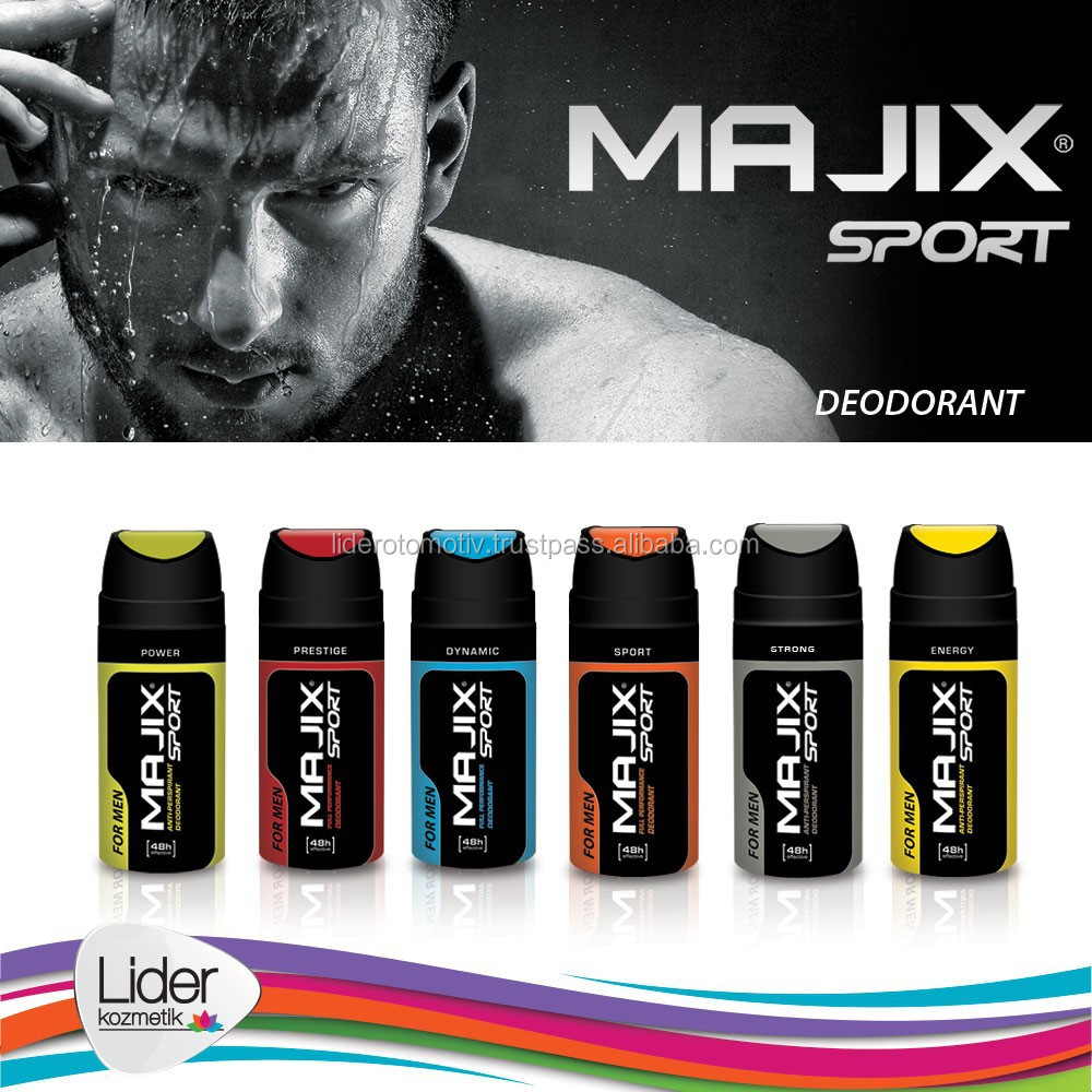 High Quality Deodorant Body Spray Majix Sport