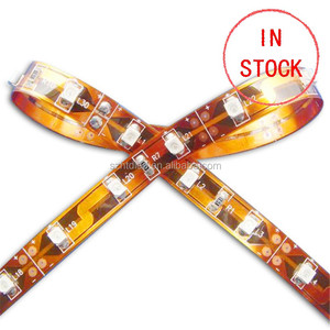 Flex LED Strips with smd 3528 led strip single color 30 led per meter DC12V led lamp low power