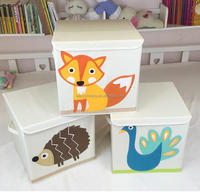 High Quality Canvas Kids Toy Storage