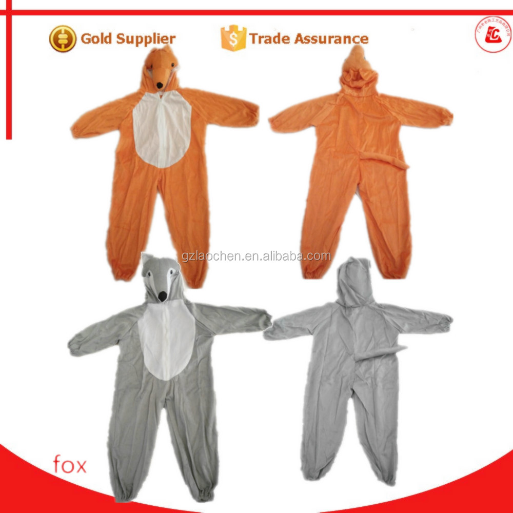 Halloween partie chipeur le renard mascotte animal cosplay costume pour enfants