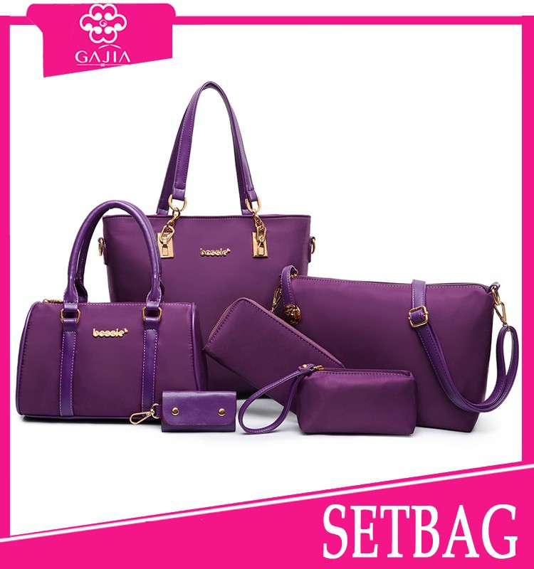 Hot Trending Canvas Sling Bag Name Brand Trendy Beach Bags 6 Pcs ...