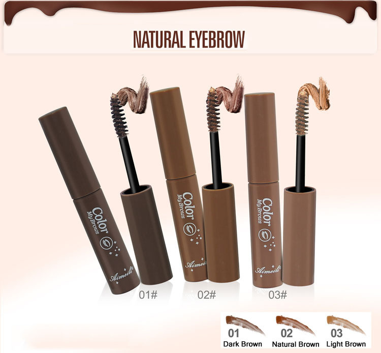 dfde39f819f New Best Selling Eyebrow Mascara Cream Eye Brow Shadow Makeup Waterproof  Long Lasting Durable 3 Colors Eyebrow Gel Enhancer