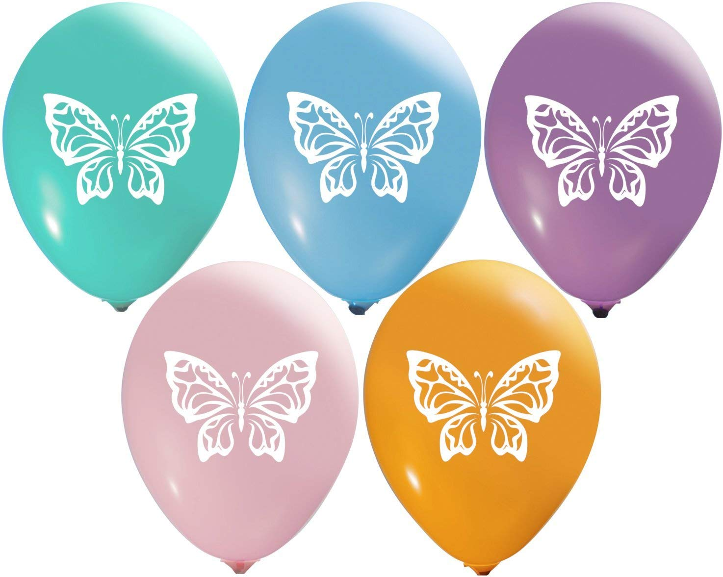 Image result for purple butterfly balloons