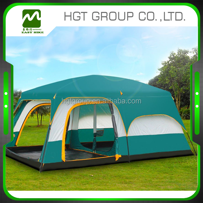 Camping <strong>Tent</strong> 6 8 10 12 Person Big Space <strong>Tent</strong> Double Layer Outdoor 2 Living Rooms and 1 Hall Luxury Party Camping <strong>Tent</strong> Backyard