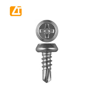 Pan Framing Screw Self Drilling with Serration Under head Zinc plated 3.9 x 9.5 / 3.9 x 11 Gypsum Screw