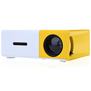 Mini led projector HD 1080 portable home theater pocket cheap price YG300 Lithium Battery