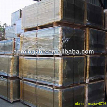 Black Iron Welded Wire Mesh / Reinforced Concrete Welded Mesh Sheets ...