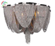 Atlantis metal chain hanging chandelier