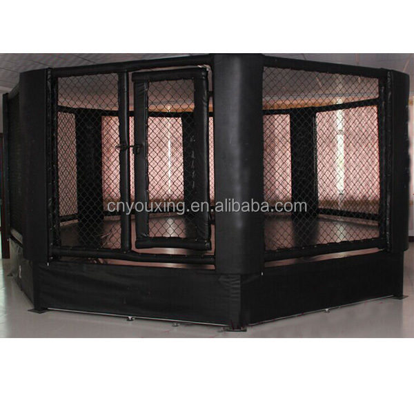 Factory Custom Design Martial Arts Octagon Used Boxing Training Pvc Leather Mma Cages For Sale