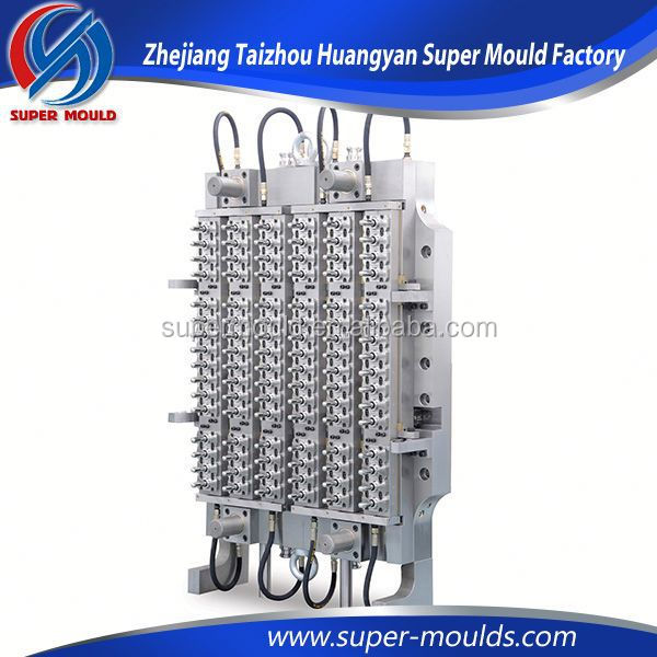 2015 10 cavities pet preform mould,pet molding manufacturer,plastic valve mould