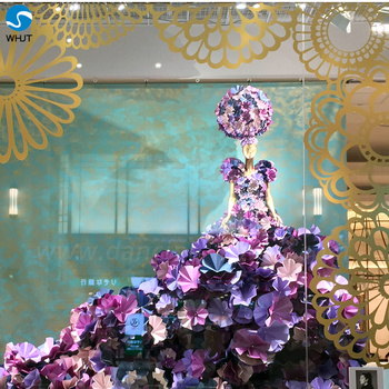 Wedding Stage Flower Decoration Paper Flowers Wedding Wall