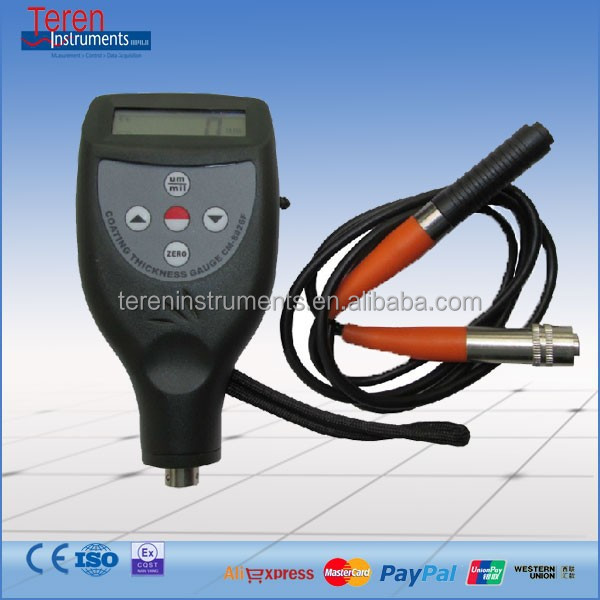 high accuracy rs485 communicarion galvanized thickness meter coating thickness meter for galvanized
