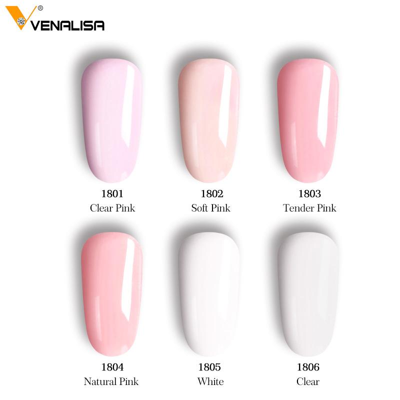 Polygel colores basicos 45gr Venalisa