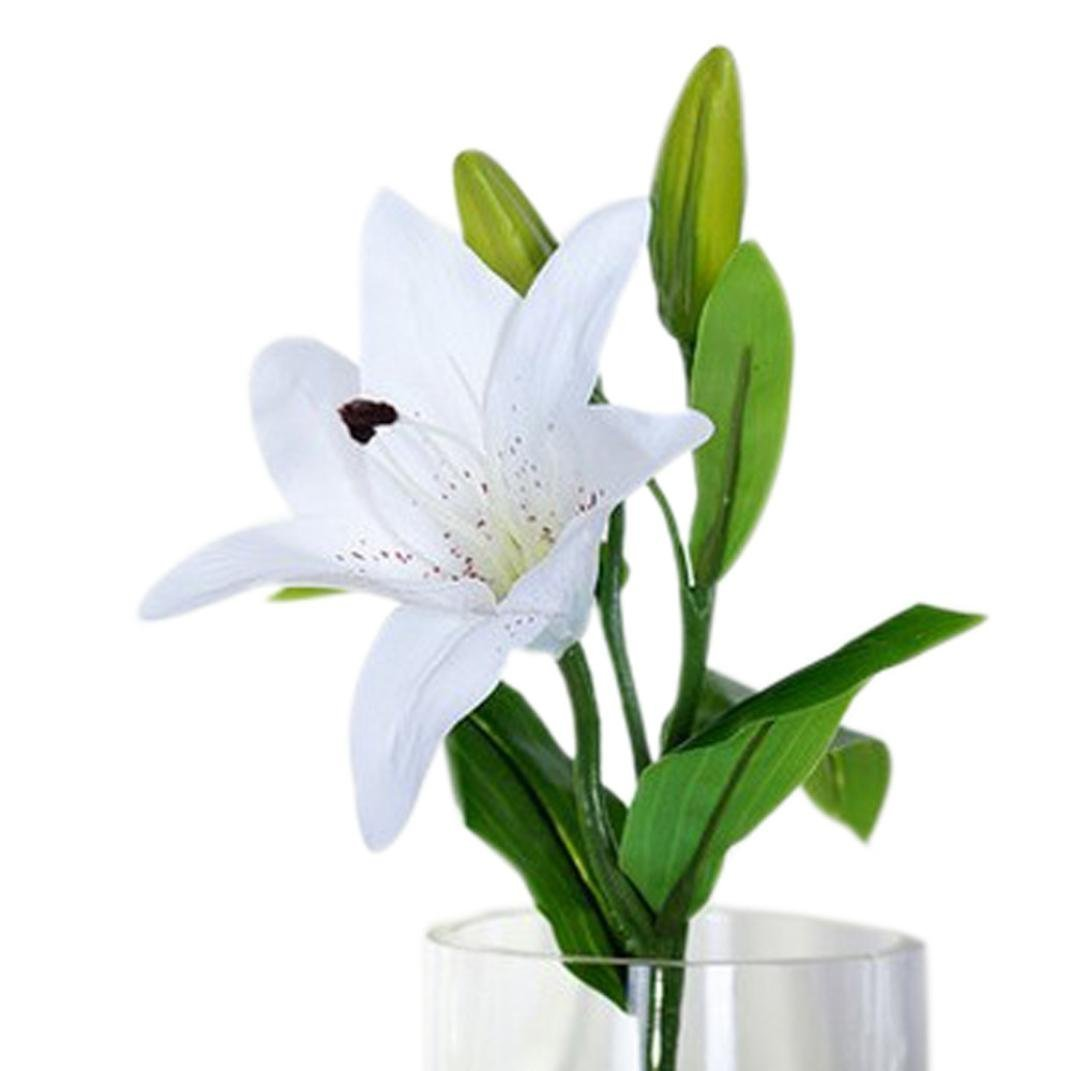 Cheap Silk White Lilies Find Silk White Lilies Deals On Line At