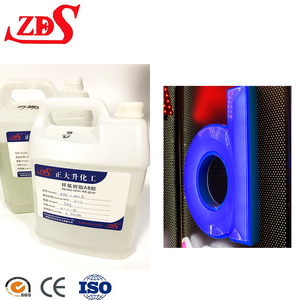 Double Components Adhesives Hard Clear Epoxy Resin for LED Channel Letter Potting