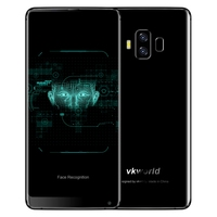 Original Factory VKworld S8 4GB+64GB Telephone Smartphones 5500mAh Battery 5.2 inch Android 8.1 4g Mobile Phones Black