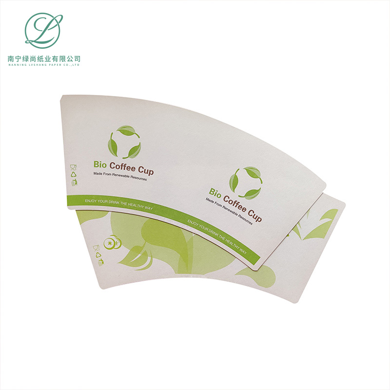 6oz-8oz PE coated paper cup fan customized printing