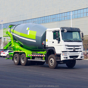 SINOTRUK HOWO Automatic 6x4 Beton Mixing Truck Mounted Concrete Mixer For Sale