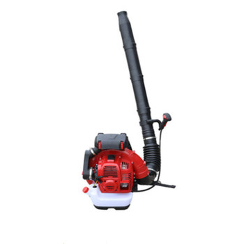 Light weight backpack blast engine shed snow blower