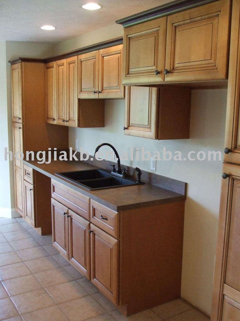 bois massif meubles de cuisine-armoire de cuisine-id de produit ... - Mobilier De Cuisine En Bois Massif
