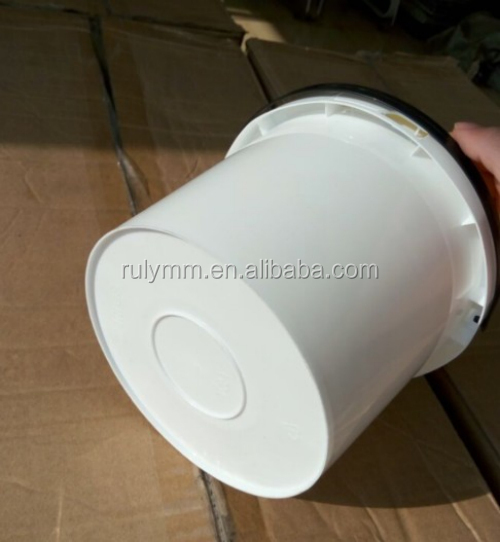 sealing lid white color 2L plastic bucket