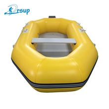 Cheap 2-4 Person PVC Portable Fishing Rigid Inflatable Boat