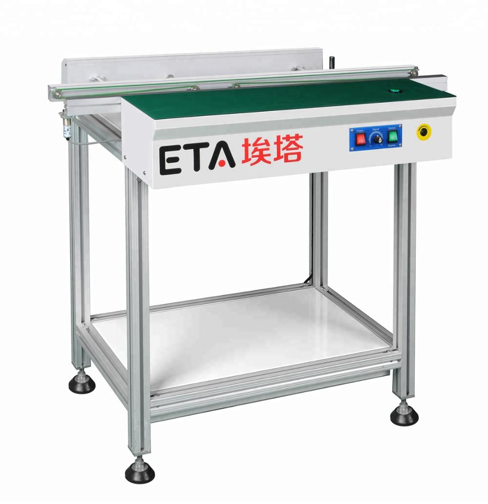 ETA Factory Sale PCB Unloader Conveyor 1000mm,Shenzhen Conveyor Belt Buffer With Low Price
