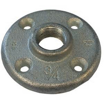 Galvanized carbon steel handrail tube floor flange buy for 1 inch galvanized floor flange