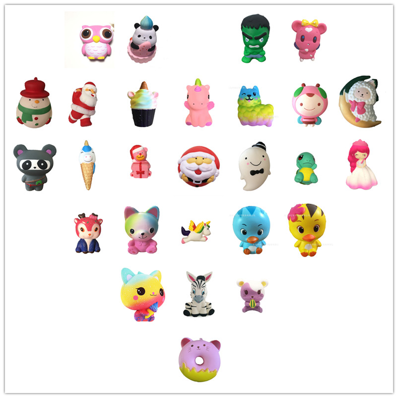 Pu Foam China panda bearcat kids girl toys gift squishy toy