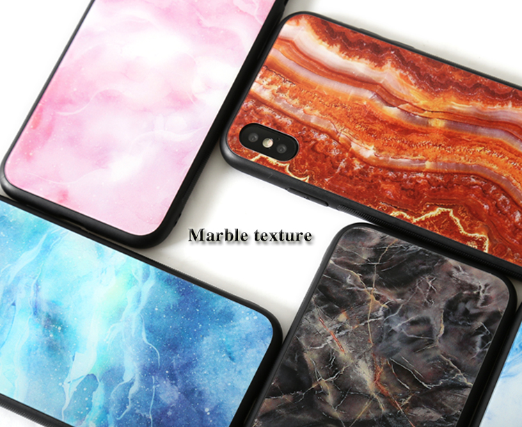 <strong>Ceramic</strong> Pattern Super Slim Cover Anti Scratch Non Slip Luxurious Glass Phone <strong>Case</strong> For Huawei P30 Lite Sublimation Phone <strong>Case</strong>