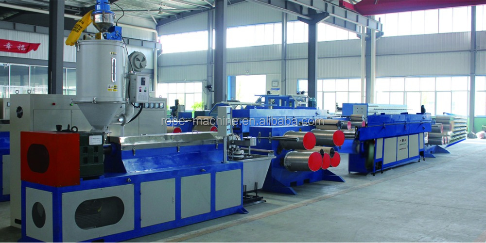 PP sack production line/PP woven bag making machine