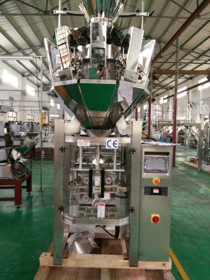 SW-M10P420 Automatic Pillow bag  Gusset Bag Combine Weighing and Packing Machine for Snack Food/Nuts/Dried Fruit/ Small Granule