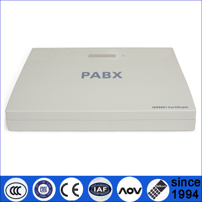 Foshan Auto Fax detect voice mail PABX 416 with billing system software
