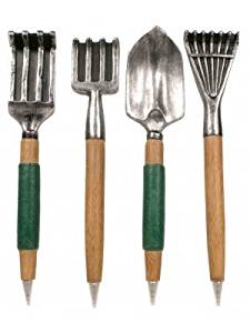 Garden Tool Pens - Set Of 4