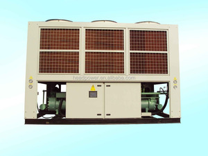 400kw r410a refrigerant air cooled chiller price