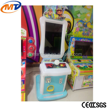 Mantong Subway Surfers Indoor Amusement Electronic Game Arcade Machine For  Sale