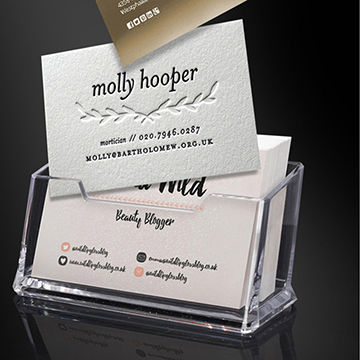 Acrylic name card holder business card holder