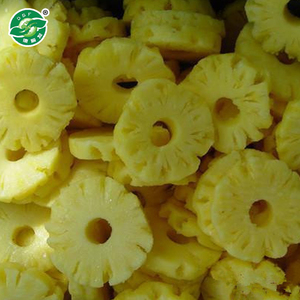 new season and good taste frozen IQF pineapple the whole /dice