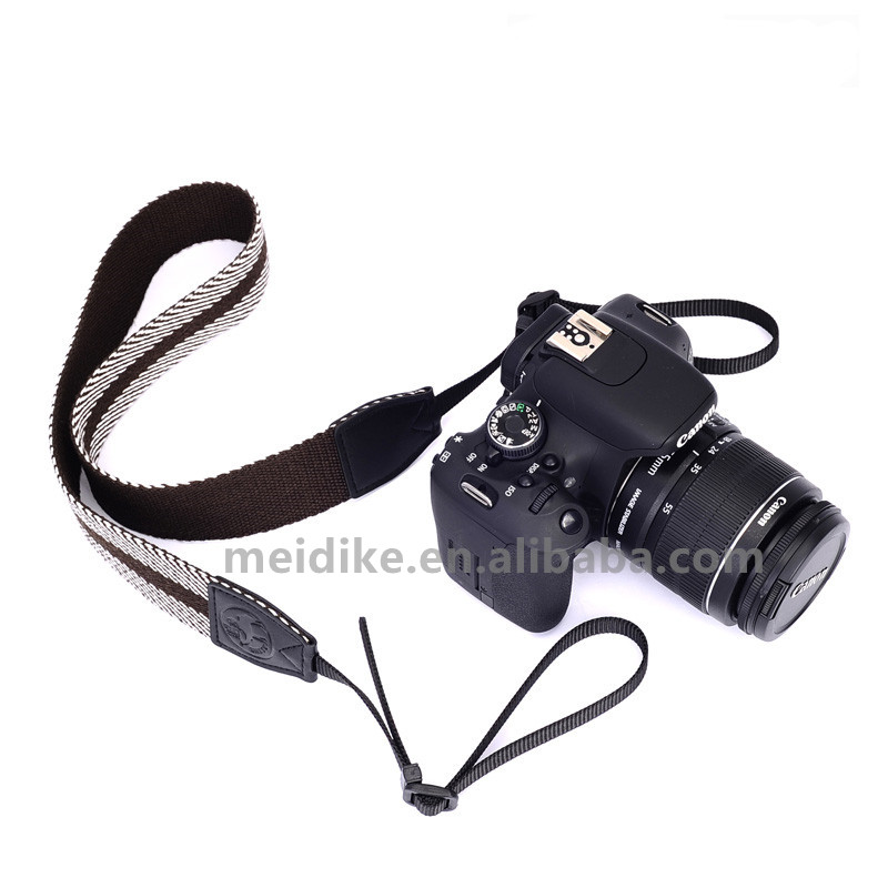 guangzhou photography camera and accessories 49mm leather straps, camcorder hand strap