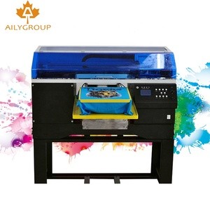 Aily Group Cheap price dtg printing machine a2 size diy dtg printer for  t-shirt textile