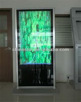 "65"" Floor Standing digital HD LCD wifi advertising android poster equipment"