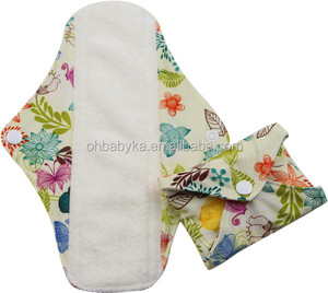 Ohbabyka reusable sanitary pads adult high quality ladies sanitary pads