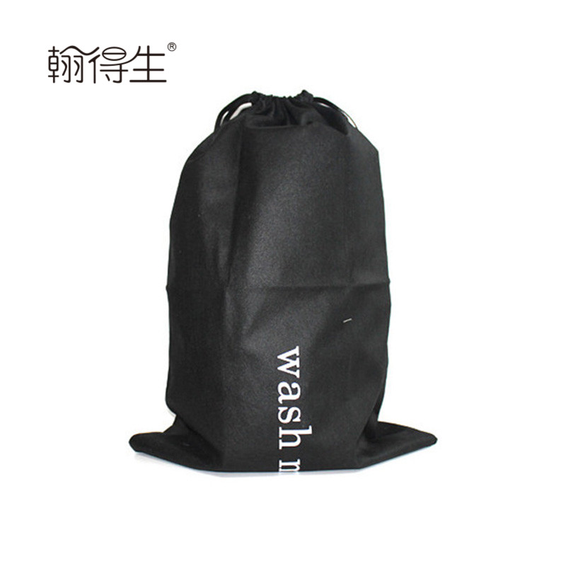 Custom antistatic non-woven laundry bag for clothes