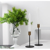 New arrive hot selling style creative elegant gold candle holder for home wedding decoration